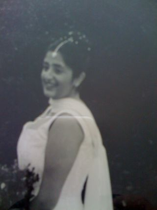 bena on her wedding day