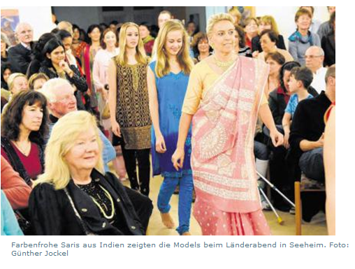 Seeheim-Jugenheim Indian Night Fashion Show